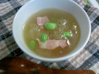 冬瓜スープ④