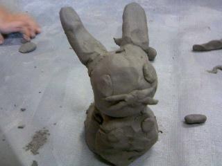 粘土ウサギ