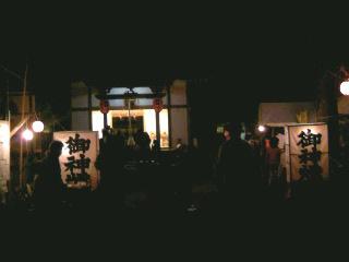 夜の神社①