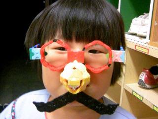 鼻メガネ②