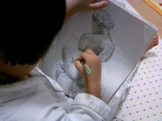 イタズラ描き