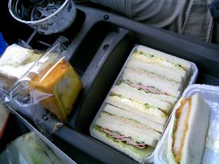 楽座のサンドイッチ