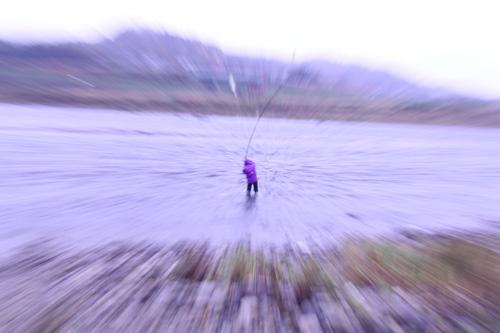 今日のいそべ 荒川鮭さけ釣り