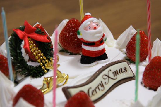 クリスマスケーキ いそべ食堂