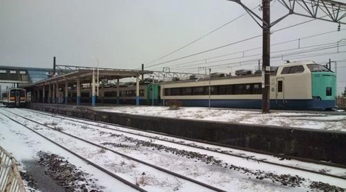 羽越本線 坂町駅
