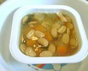 お豆と鶏肉のうま煮