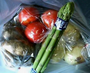 三笠の野菜達
