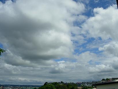 窓からの風景(空)