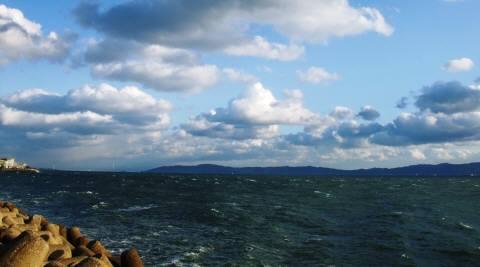 海と雲-1