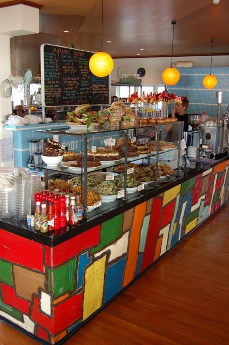 maranui Cafe inside