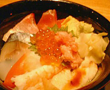 天天の海鮮丼