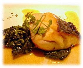 揚げ魚のカレー風味