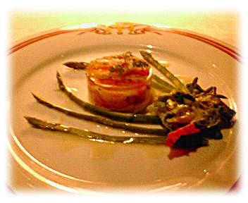 帆立貝のタルタルと蟹のゼリー寄せ 構想風味
