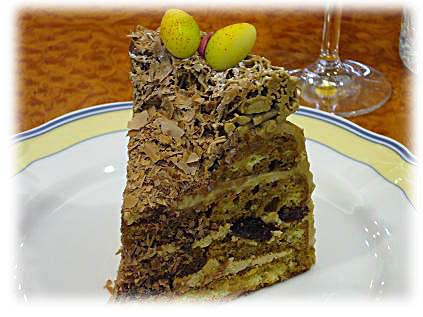 イースターケーキ モカ