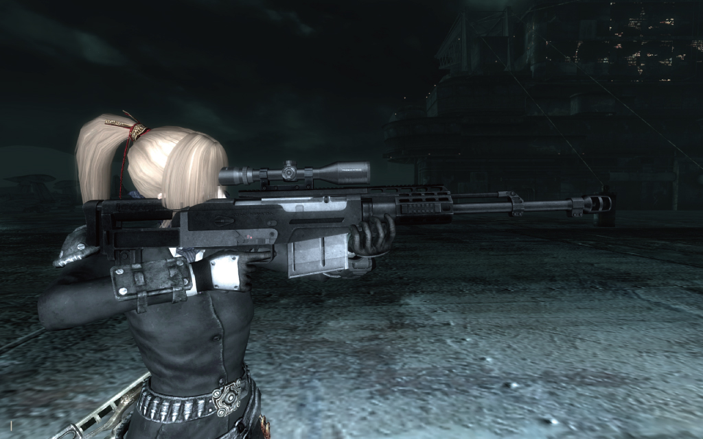 Fallout3 MOD - Accuracy International AS50 Sniper reupload あげもの
