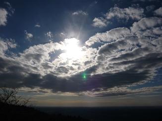 筑波山太陽