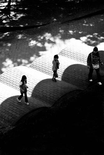 女子カメラ - 散歩