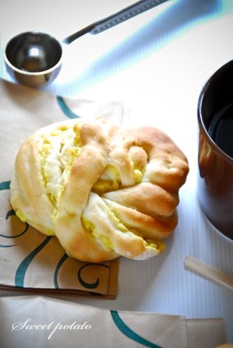 スイートポテトのパン