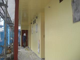 ルナ・モデュール外部塗装、錆止め、エアコン、アイホン 001