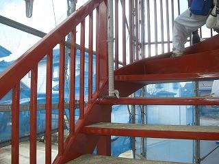 ルナ・モデュール外部塗装、錆止め、エアコン、アイホン 004