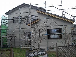 桜新町小林様現場外装、内装床張り 004