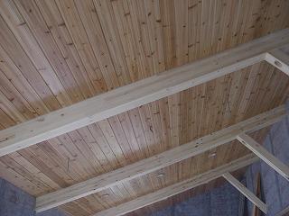 桜新町小林様現場外装、内装床張り 002