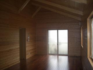 桜新町小林様現場外装、カーポート、内装天井、壁、羽目板張り 003