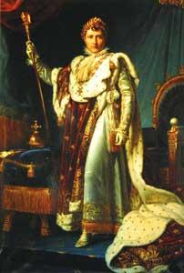 戴冠式のナポレオン1世