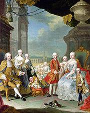 マリアテレジアと家族たち