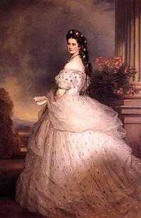 エリーザベト皇后(ヴィンターハルター画)