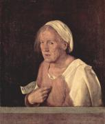 ジョルジョーネ 老婆の肖像