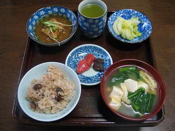 01-10 玄米食朝ごはん
