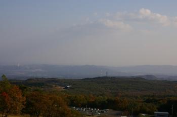 泉ヶ岳からの眺め