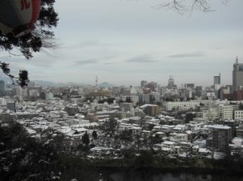 愛宕神社からの町並み