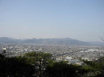 信夫山からの風景