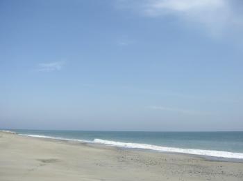青い空、青い海♪
