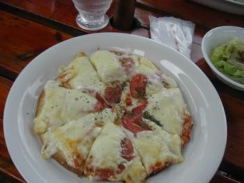 チーズたっぷりのピザ♥
