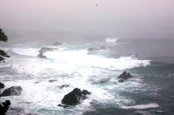 泊崎の端っこの岬