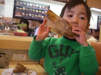 ちまきを食べる!!