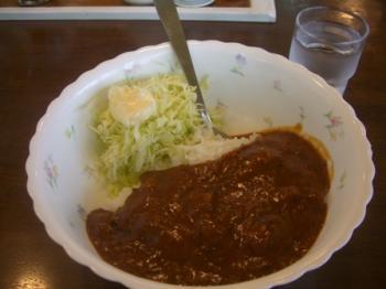 大辛カレーライス(中)♪