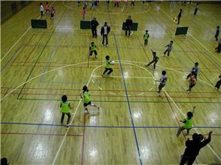 児童館対抗ドッヂボール大会