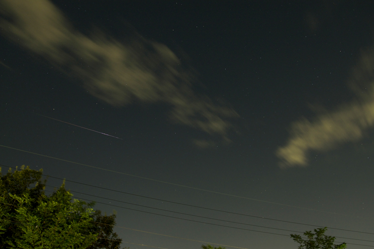 ペルセウス座流星群の一滴