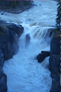 Sanwapta Falls
