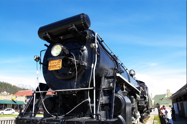 a Steam Locomotive