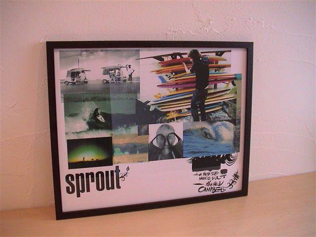 ■スプラウト Sprout  ポスター 33cm×約43cm ¥12000