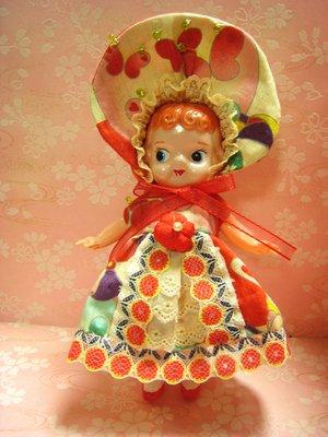 ウサギ文化人形服1
