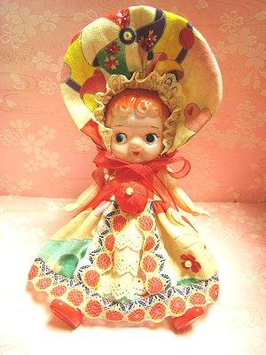ウサギ文化人形服3