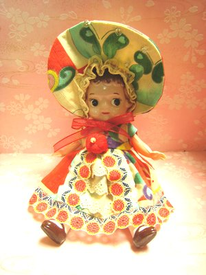 ウサギ文化人形服5