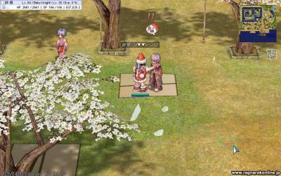サンタと桜