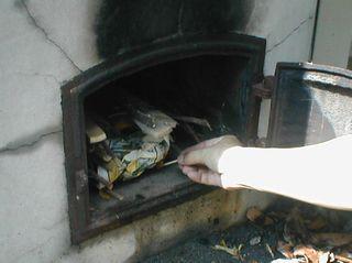 火をつける講習中w